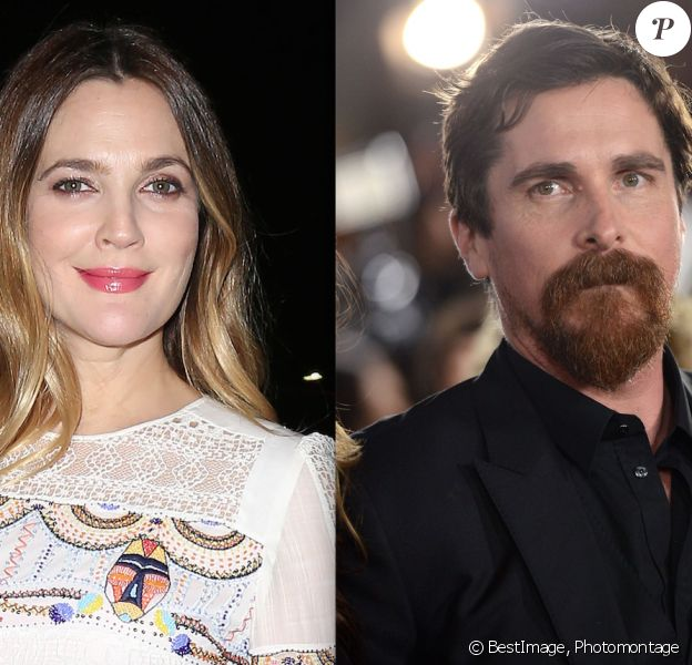 Drew Barrymore / Christian Bale (photomontage)