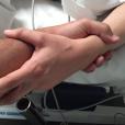Moundir, papa, dévoile les coulisses de l'accouchement de son épouse Inès. Le 16 novembre 2015.