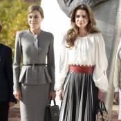 Letizia d'Espagne et Rania de Jordanie : Choc d'élégance à Madrid