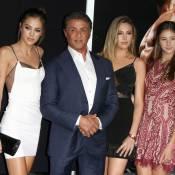 Sylvester Stallone, fier Rocky : Ses filles, lumineuses, lui volent la vedette