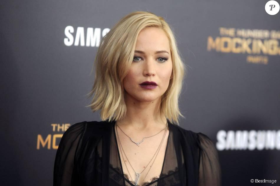 Jennifer Lawrence - Première de Hunger Games La révolte : partie 2 à New York le 18 novembre 2015.