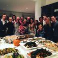 Chris Martin et Gwyneth Paltrow réunis en famille pour Thanksgiving. (photo postée le 27 novembre 2015).