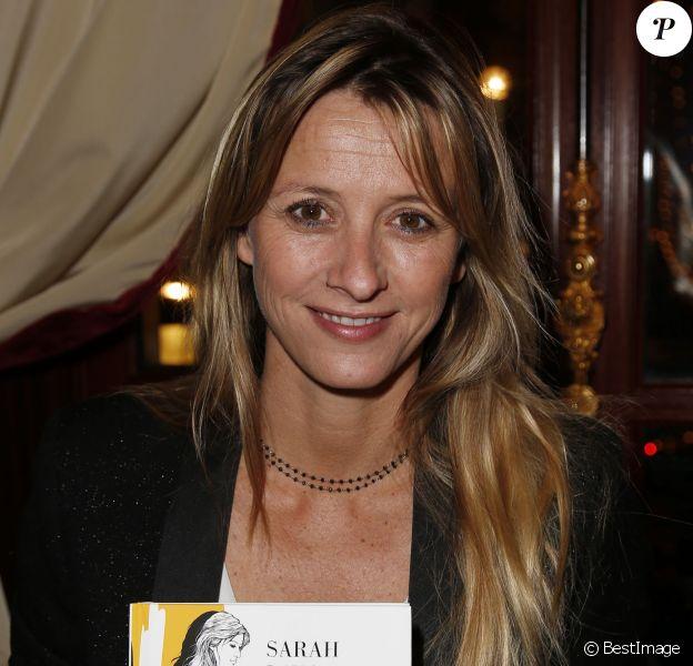 Sarah Lavoine - Le 38ème cocktail des écrivains dans les salons du Fouquet's à Paris, le 26 novembre 2015. © Marc Ausset-Lacroix