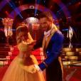 Véronic DiCaire et son partenaire, dans  Danse avec les stars 6 , le samedi 28 novembre 2015 sur TF1.