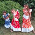 Norbert Tarayre : ses trois filles prennent la pose !