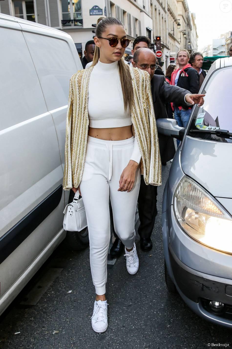 adidas superstar blanche porté