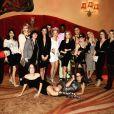 Jessica Chastain fête l'enterrement de vie de jeune fille de sa meilleure amie Jessi Weixler à Las Vegas. Les filles sont allées voir un spectacle du Cirque du Soleil. / photo postée sur Instagram à la fin du mois de novembre 2015.