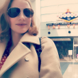 Jessica Chastain fête l'enterrement de vie de jeune fille de sa meilleure amie Jessi Weixler à Las Vegas / photo postée sur Instagram à la fin du mois de novembre 2015.