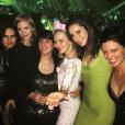 Jessica Chastain fête l'enterrement de vie de jeune fille de sa meilleure amie Jessi Weixler à Las Vegas. Les filles font la fête au club TAO. / photo postée sur Instagram à la fin du mois de novembre 2015.