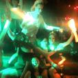 Jessica Chastain fête l'enterrement de vie de jeune fille de sa meilleure amie Jessi Weixler à Las Vegas.Les filles font la fête au club TAO. / photo postée sur Instagram à la fin du mois de novembre 2015.