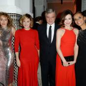 Valeria Bruni Tedeschi et Elsa Zylberstein en rouge pour Dior à Marrakech