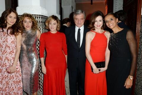 Valeria Bruni Tedeschi et Elsa Zylberstien en rouge pour Dior à Marrakech