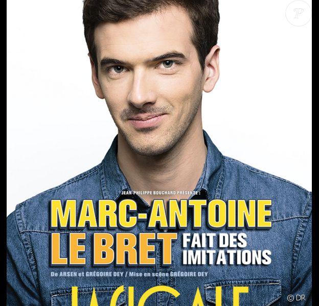 Marc-Antoine Le Bret fait des imitations à La Cigale, du 14 au 16 janvier 2016