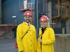 PHOTOS : La princesse Mette-Marit et le prince Haakon, une nouvelle tenue... bonne pour le paintball !