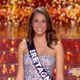 Miss Bretagne - Les 12 finalistes défilent, lors de l'élection Miss France 2016 le samedi 19 décembre 2015 sur TF1