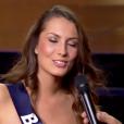 Les 12 finalistes se présentent, lors de l'élection Miss France 2016 le samedi 19 décembre 2015 sur TF1