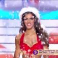 Miss Nord-pas-de-Calais - Les 12 finalistes défilent en Mère Noël sexy, lors de l'élection Miss France 2016 le samedi 19 décembre 2015 sur TF1