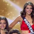 Miss Provence choisie parmi les cinq finalistes, lors de l'élection Miss France 2016 le samedi 19 décembre 2015 sur TF1