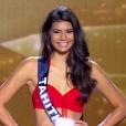 Miss Tahiti choisie parmi les cinq finalistes, lors de l'élection Miss France 2016 le samedi 19 décembre 2015 sur TF1