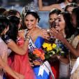 Pia Alonzo Wurtzbach (Miss Phillipines 2015) remporte le concours Miss Universe 2015 au Planet Hollywood Resort & Casino. Las Vegas, le 20 décembre 2015.
