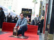 """Quentin Tarantino, fier étoilé, célébré par sa chérie et quelques """"Salopards"""""""