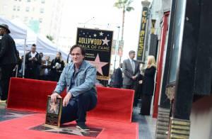 Quentin Tarantino, fier étoilé, célébré par sa chérie et quelques