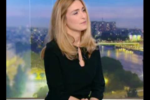 Julie Gayet : Belle bourde et malaise à la télévision