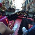 """Alia et Ali (""""Secret Story 9""""). Après Milan, le duo profite d'un séjour à Venise ! Janvier 2016."""