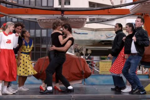 "Peter Sagan : Le plus cinglé des cyclistes dans une version cheap de ""Grease"""