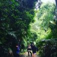 Pauline Ducruet en vacances en Australie, lors d'une excursion dans la jungle. Photo postée sur son compte Instagram en décembre 2015.