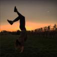Pauline Ducruet avec ses Yeezy Season 1 dans les vignobles des Hamptons. Photo postée sur son compte Instagram en novembre 2015.