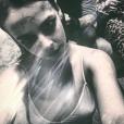 Pauline Ducruet lors d'Halloween 2015 à New York. Photo postée sur son compte Instagram en novembre 2015.