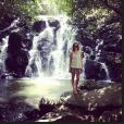 Pauline Ducruet en vacances à l'Île Maurice en 2013. Photo Instagram.