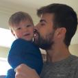 Sasha, le fils de Shakira, et son papa Gerard Piqué - janvier 2016