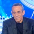 Thierry Ardisson ému par la jeune Jane Constance sur le plateau de  Salut les terriens , le samedi 9 janvier 2016 sur Canal+.