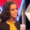 Jane (coachée par Patrick Fiori), dans la finale de  The Voice Kids  saison 2, le vendredi 23 octobre 2015, sur TF1.