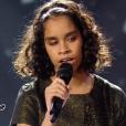 Jane, 15 ans, dans la finale de  The Voice Kids  saison 2, le vendredi 23 octobre 2015, sur TF1.