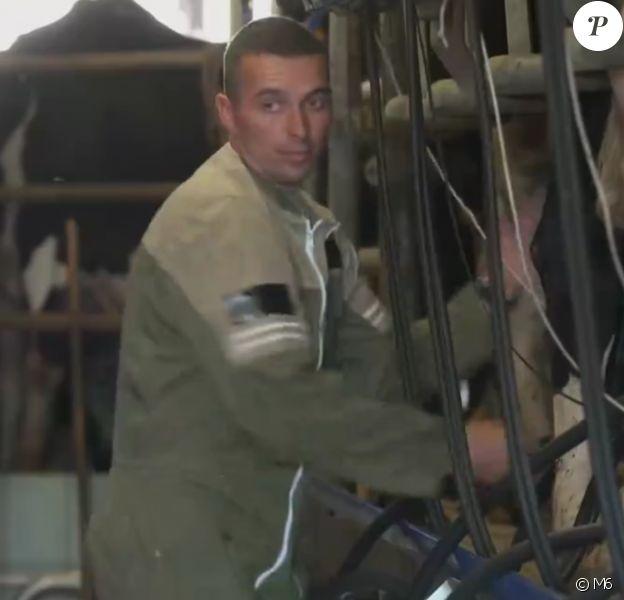 """Sébastien - Candidat de """"L'amour est dans le pré 2016"""", sur M6."""