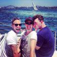 Sam Smith en vacances en Australie, le 1er janvier 2015