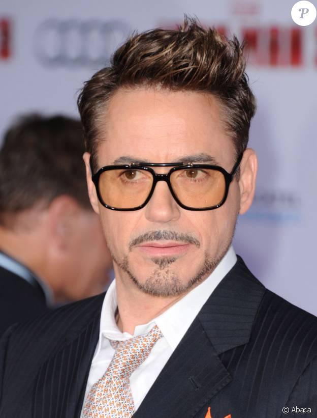 Robert Downey Jr. à la première d'Iron Man 3 à Los Angeles, le 24 avril 2013.