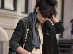 REPORTAGE PHOTOS : Katie Holmes s'est coiffée avec... un pétard !