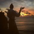 Pauline Ducruet en vacances à Bali en janvier 2016, photo de son compte Instagram