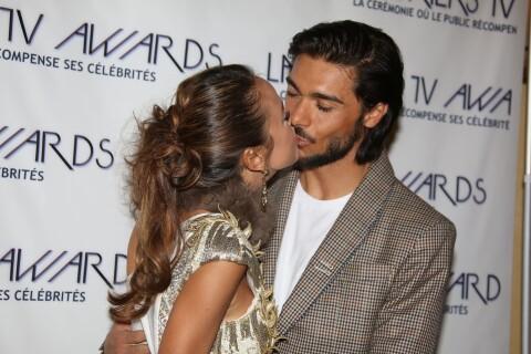Vanessa Lawrens et Julien Guirado : Amoureux et tactiles aux Lauriers TV Awards