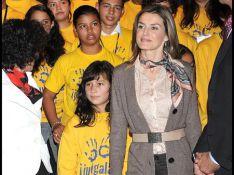 REPORTAGE PHOTOS : Letizia d'Espagne, radieuse avec les enfants !