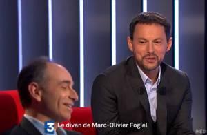 Marc-Olivier Fogiel : Face à lui, Jean-François Copé fend l'armure dans Le Divan