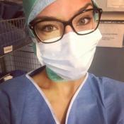 Marine Lorphelin : Son selfie en direct du bloc opératoire séduit