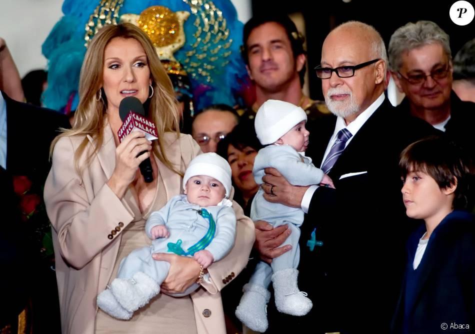 Céline Dion avec ses enfants Nelson et Eddy, accompagnée ... Britney Spears Las Vegas