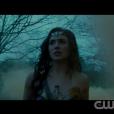dans les premières images de Wonder Woman (capture d'écran CW)