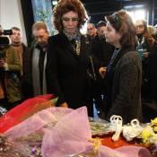 """Sophia Loren émue devant le cercueil d'Ettore Scola : Un adieu si """"particulier"""""""