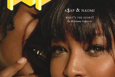Naomi Campbell et A$AP Rocky : Duo ravageur pour un shooting POP !